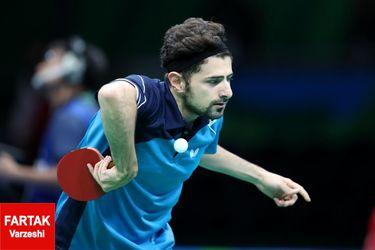 گزارش تصویری : المپیک ۲۰۱۶ / مسابقات پینگ پنگ