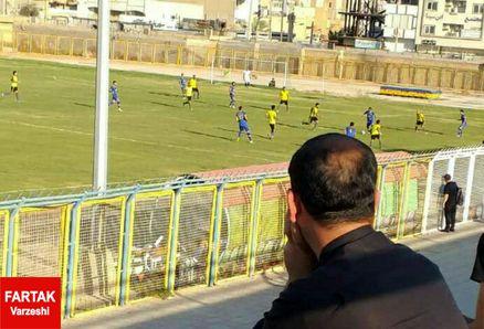 برتری شهرداری ماهشهر برابر اروند / مربی استقلال ملاثانی مهمان ویژه بازی