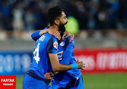 هافبک استقلال در میان ۸ بازیکن برتر هفته آسیا