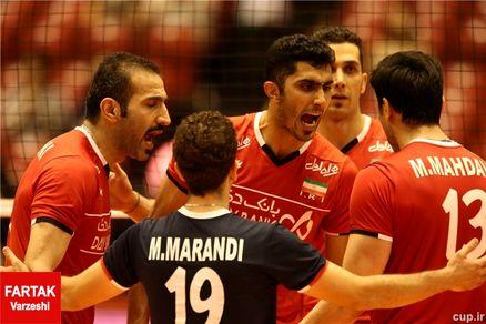 ترین های تیم ملی والیبال در المپیک/میرزاجانپور در صدر ترین ها