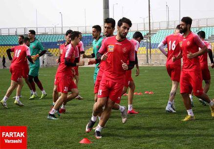گزارش تمرین پرسپولیس | کر خوانی شدید در فوتبال درون تیمی