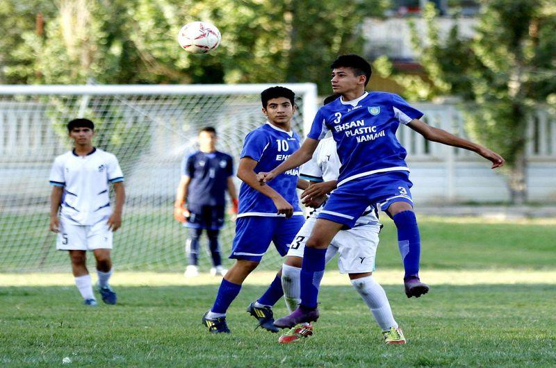 گزارش تصویری از تیم های نوجوانان کیوج و پیکان