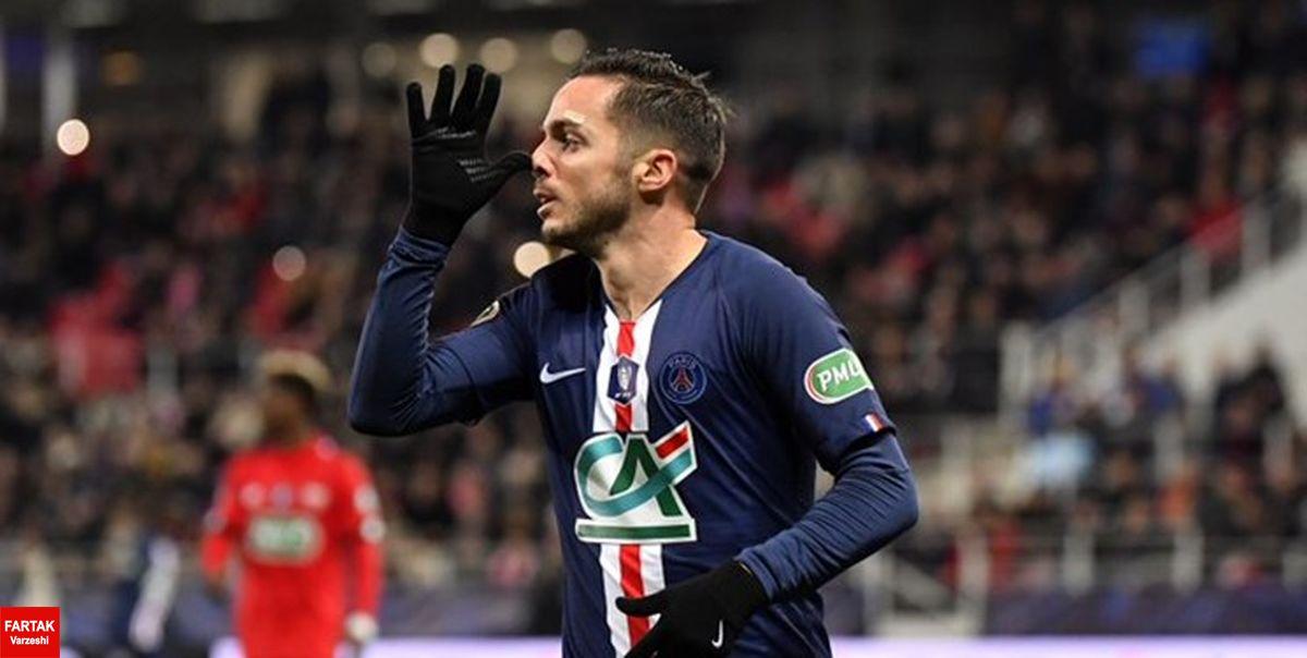 جام حذفی فرانسه|سنژرمن با گلباران دیژون راهی نیمه نهایی شد