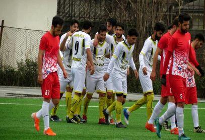 گزارش تصویری از دیدار فرهنگ ایثار آستارا برابر شهرداری اردبیل ، از سری رقابت های هفته ششم لیگ دسته سوم