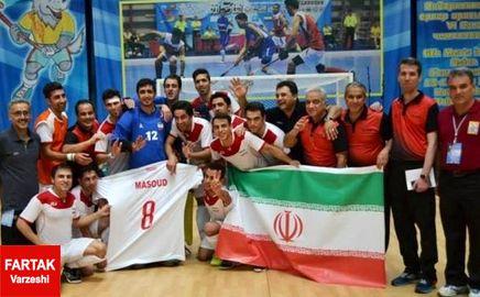 ایران قهرمان هاکی داخل سالن آسیا شد