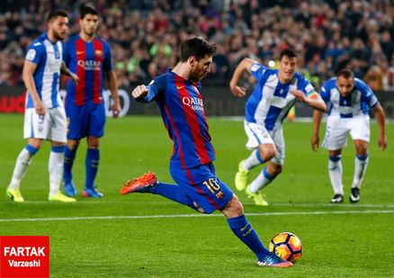 پیروزی خفیف بارسلونا در دیدار مقابل والنسیا
