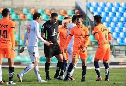 گزارش تصویری: هفته هفدهم لیگ دسته یک فوتبال کشور/ بادران تهران - مس رفسنجان