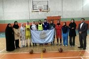 پیام نور نماینده بسکتبال بانوان در قهرمانی دانشگاه آسیا
