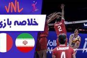 خلاصه والیبال ایران 3 - ایتالیا 1 + فیلم