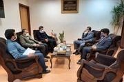 دیدار مدیرعامل باشگاه ذوب آهن با مدیرکل صداو سیمای اصفهان