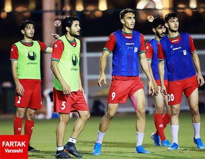 اعلام زمان اردوی تیم امید