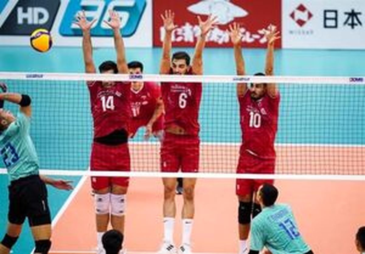 برنامه بازیهای ایران در والیبال قهرمانی جهان