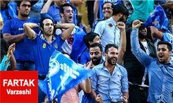 درگیری بین هواداران استقلال روی سکوها