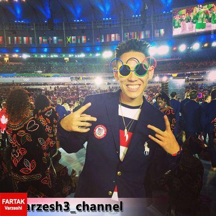 عکس/ عینک مخصوص افتتاحیه المپیک