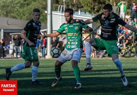 درخشش مهاجم پیشین پرسپولیس در لیگ فنلاند