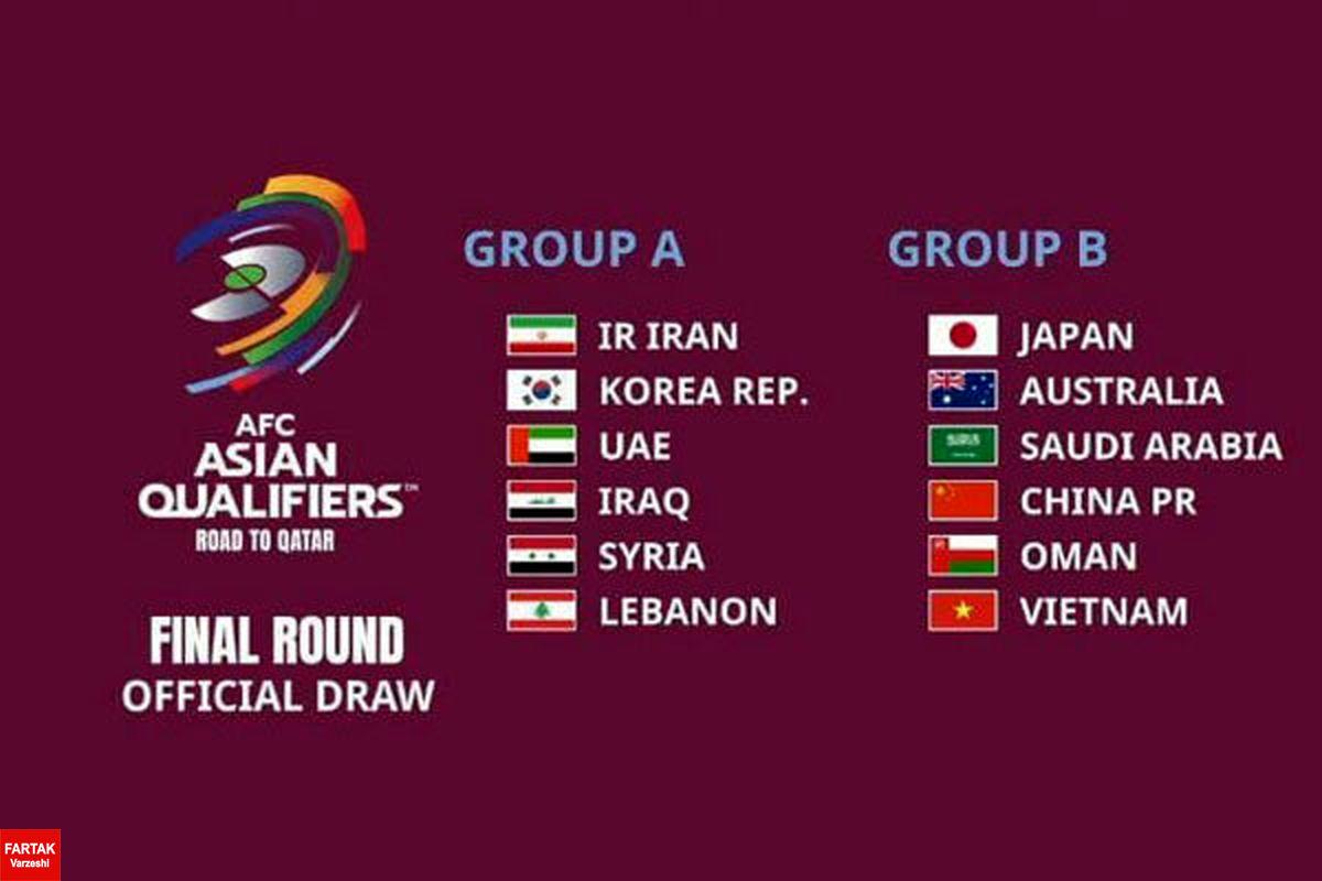 زمان و برنامه دیدارهای تیم ملی فوتبال ایران مشخص شد