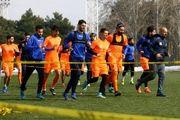 تمرین استقلال امروز در مجموعه ورزشی انقلاب برگزار شد