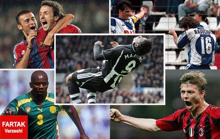 6 بازیکنی در چهار لیگ برتر اروپایی گلزنی کردند + عکس