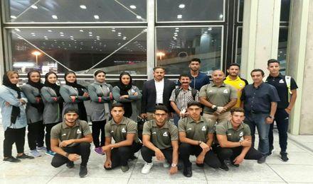 تیم ملی آبهای آرام زیر 23 سال و جوانان عازم رومانی شد