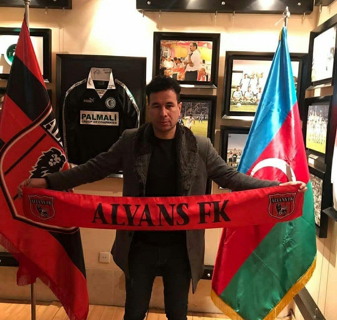 از حضور در لیگ آذربایجان راضی هستم/ امیدوارم به همراه آلیانس به لیگ دسته اول صعود کنیم