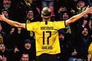 شماره پیراهن ستاره نروژی در دورتموند مشخص شد