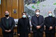 دیدار صمیمانه شهردار تهران با مدیران سرخابی