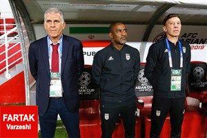 جام ملت های آسیا  نگاهی آماری به عملکرد تیم کی روش