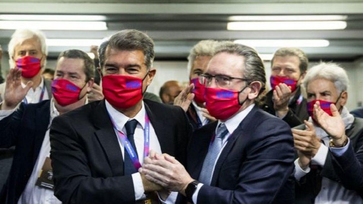 رفع مشکل لاپورتا برای ریاست بر بارسلونا