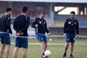 گزارش تمرین پرسپولیس| حضور مدیران باشگاه در ورزشگاه کاظمی