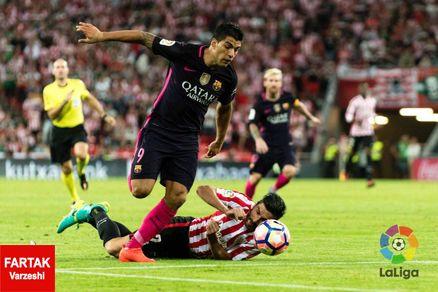 بارسلونا با تک گل راکتیچ از جهنم سن مامس ٣ امتیاز کسب کرد