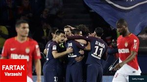کار عجیب باشگاه موناکو در پی شکست سنگین مقابل پاری سن ژرمن