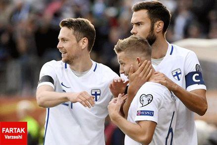 پیروزی ناباورانه فنلاند مقابل ایسلند