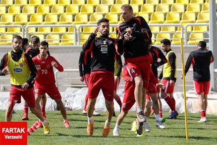 گزارش آخرین تمرین پرسپولیس پیش از بازی با استقلال خوزستان