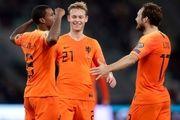 مرحله انتخابی رقابتهای یورو ۲۰۲۰ با برتری تیم ملی هلند ادامه یافت