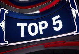 5 حرکت برتر بسکتبال NBA در دیدار امروز + فیلم
