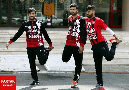 سلفی مسلمان با طارمی و 3 پرسپولیسی + عکس