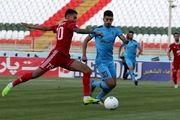 لیگ برتر فوتبال  تراکتور با پیروزی مقابل پیکان به رختکن رفت