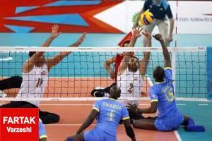 تیم ملی والیبال نشسته ایران در برابر چین به پیروزی دست یافت