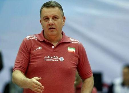 کولاکوویچ :نظری درمورد غیبت مسؤولان فدراسیون در سالن ندارم