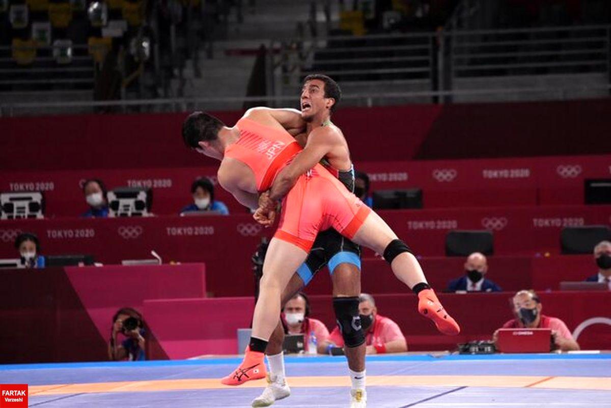 محمدعلی گرایی به مدال برنز المپیک نرسید