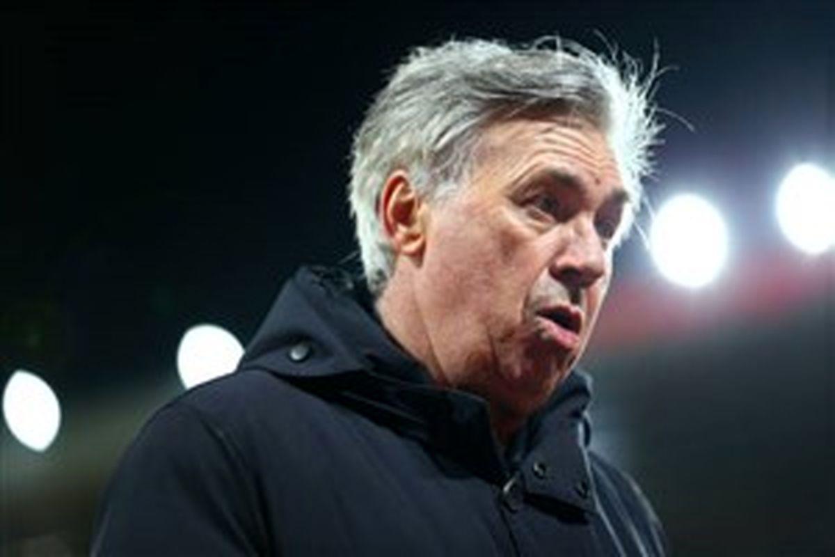 آنچلوتی: با بازیکنانم در مورد مسی حرف نمی زدم
