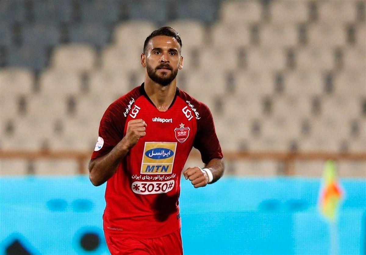 لیگ فوتبال امارات|پیروزی شباب الاهلی مقابل شارجه با درخشش خیره کننده قائدی