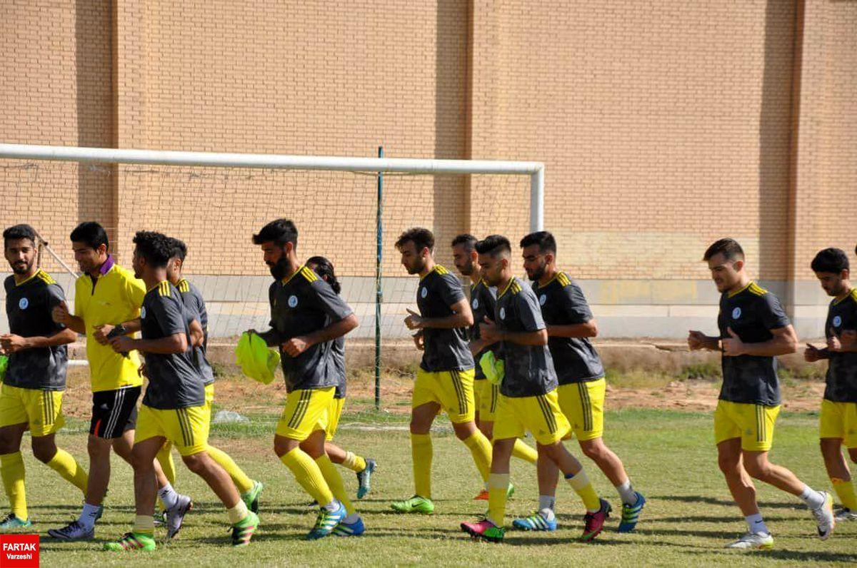گزارش تصویری از تمرین تیم استقلال ملاثانی