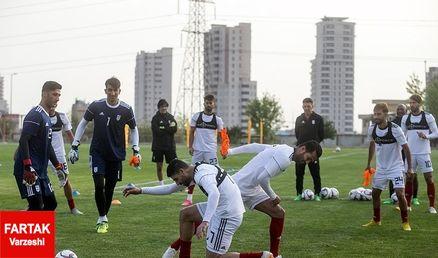 اعلام برنامه تمرین تیم ملی فوتبال در روزهای پنجشنبه و جمعه