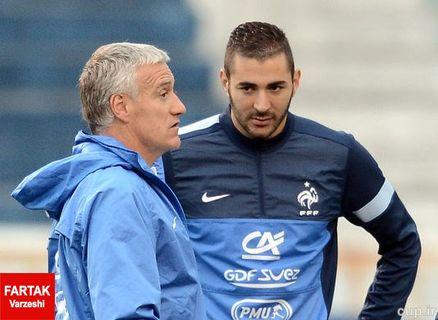 نوئل لوگرائه: بنزما از حضور در تیم ملی محروم نشده است
