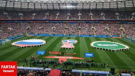 گازینسکی زننده اولین گل جام جهانی 2018