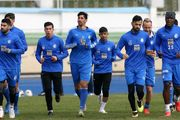 گزارش تمرین استقلال؛ شوخی آبی پوشان با تبریزی
