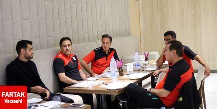 پورعلی گنجی در اردوی تیم امید+عکس