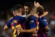 پیروزی پُرگل بارسلونا در روز دبل سوارس