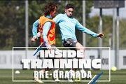 تمرینات آماده سازی بازیکنان رئال مادرید + فیلم